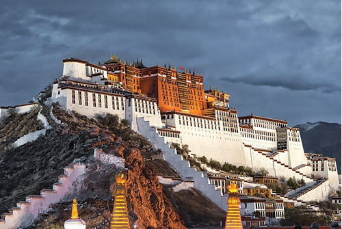 puzzle the potala palace china  - 1000 piezas tomax 100-207
