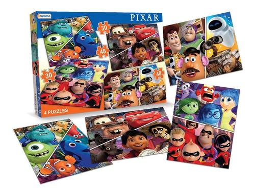 puzzles 4 toy story cars nemo 48 56 piezas cod 1107 bigshop