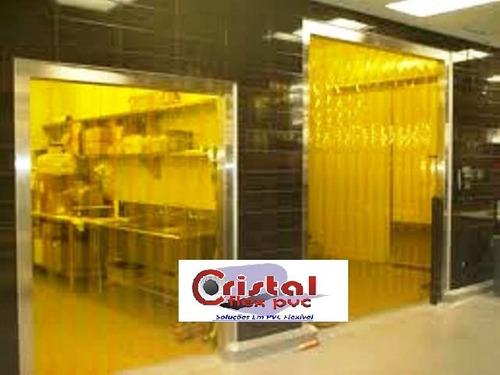 pvc amarelo anti inseto p/ cortinas venda por metro linear