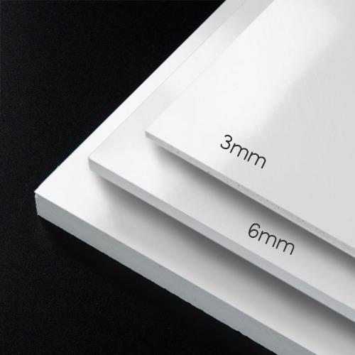 pvc espumado trovicel 6 mm blanco hoja completa 244x122cm diversos usos impresión cama plana, vinil adhesivo, serigrafía