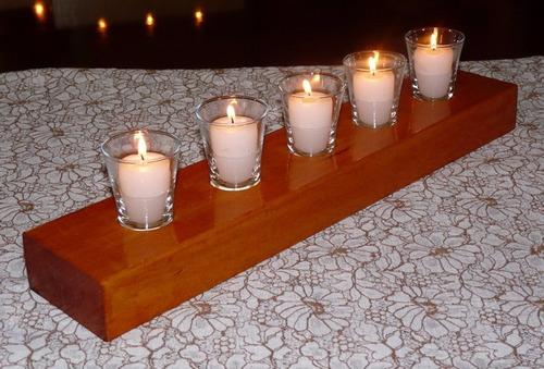 pvhv124 - centro decorativo eventos posa 1 vela + vidrio