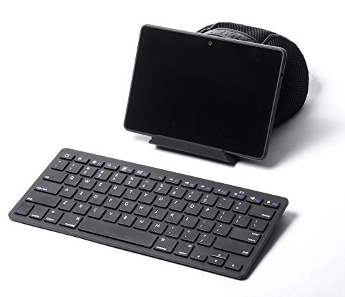 pwr + external slim teclado inalámbrico para tableta apple a