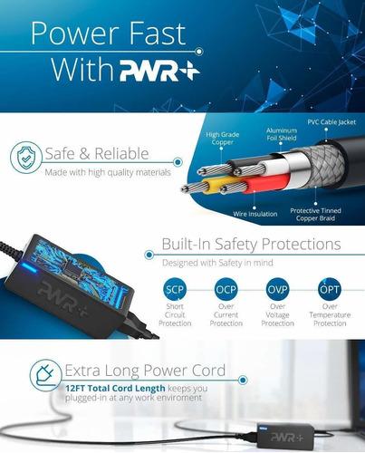 pwr+ - fuente de alimentación para dell monitor: s2316h s
