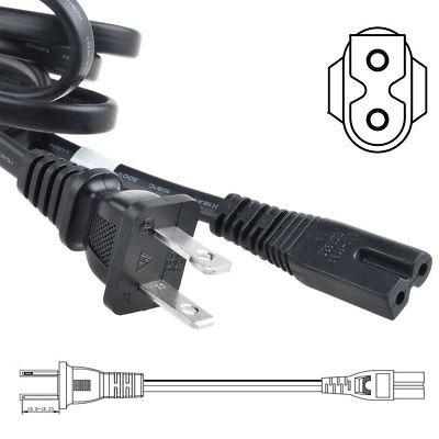 pwron 6ft ac polarizado cable de alimentación cable para  xc