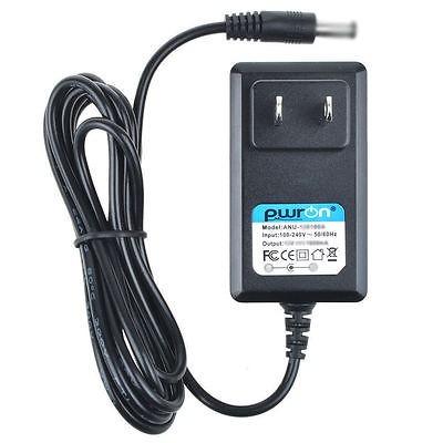 pwron ac adaptador cargador para batería yamaha dtx500 de