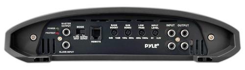 pyle 2000w clase d monoblock amplificador