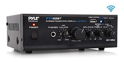 pyle amplificador de audio inicio la serie