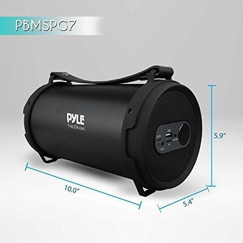 pyle boombox sistema de audio estereo bluetooth portatil con