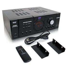 Pyle Home Pt3300 3000-watt Amplificador De Potencia Up Shop