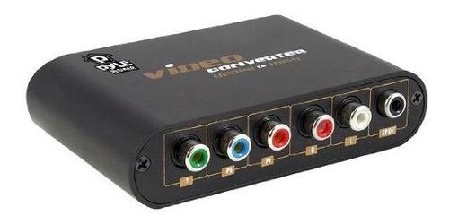 pyle home pypbhd40 video componente y convertidor spdif a hd