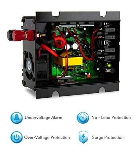 pyle pinv44 plug in car 300 watt 12v dc a
