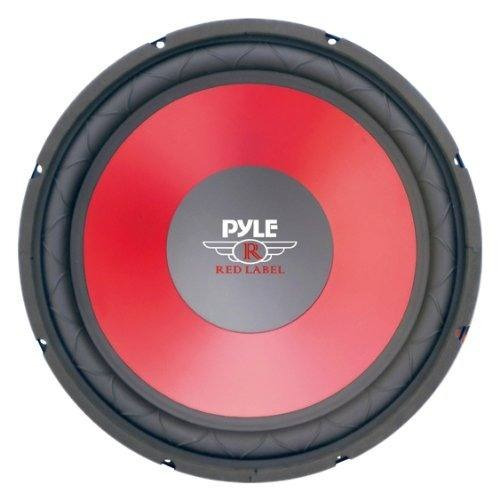 pyle plw15rd cono rojo de 15 pulgadas de alto rendimiento wo