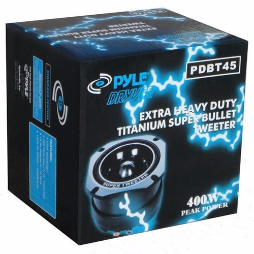 pyle-pro tweeter pdbt45  400w peak power nueva