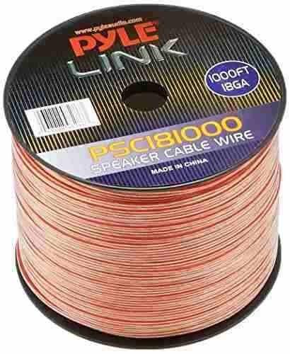 Pyle Psc181000 18-gauge 1000-spool Spool Of Speaker Zip Wire on