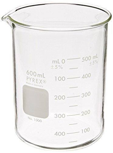 pyrex griffin bajo la forma 600 ml vaso graduado 6pk por py