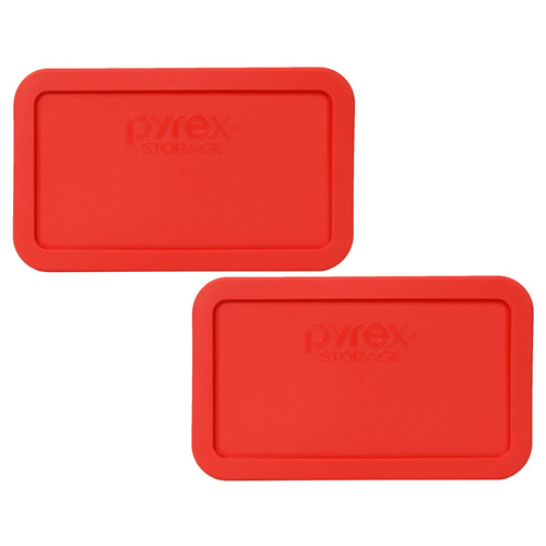pyrex tapa de reemplazo 7214-pc red rectangle