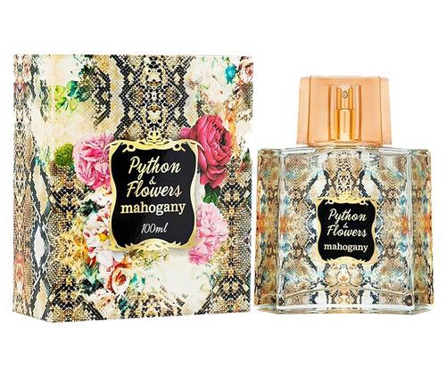 python & flowers mahogany perfume 100ml pronta entrega