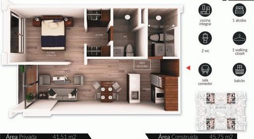 pyto apto :: 45 m² :: chicó norte iii :: $394