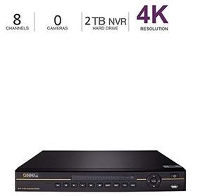Q-see 4k 8mp 8-channel Nvr Ultra Hd Qc Ip Series Surveillanc