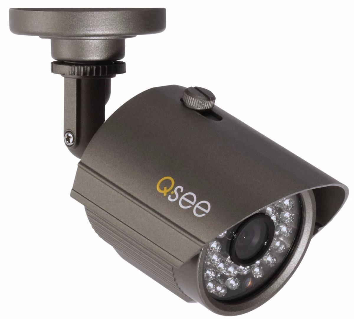 Q See Qt534 4e4 5 4 Channel Full D1 Surveillance System