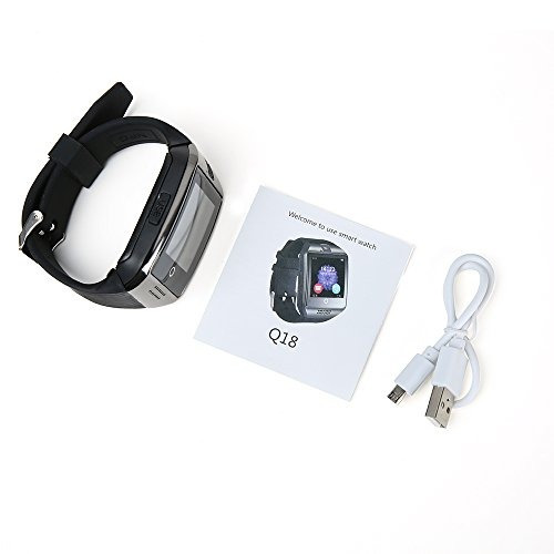 q18 reloj inteligente bluetooth para hombres mujeres o niño