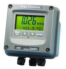 q45h / 62 sistema portátil analizador de cloro libre - nuevo