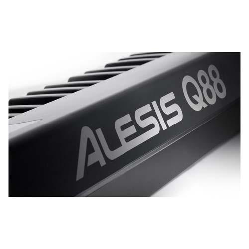q88 teclado contr c/ 88 teclas usb/midi alesis oferta