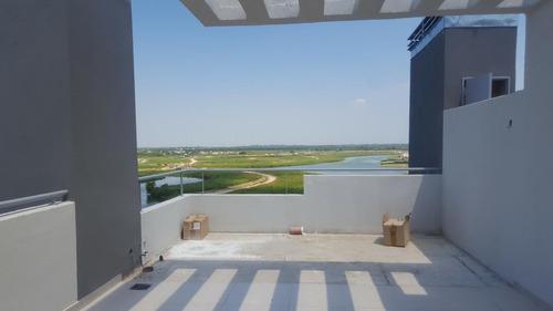 qbay golf - nordelta - depto con la mejor vista al lago