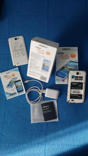 qbex - celular usa ¡¡nuevo!! estrene: completo, libre 10/10