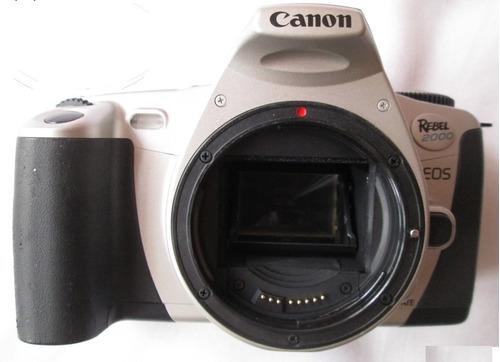 qc canon eos rebel 2000 cuerpo cámara rollo reflex bazardpp