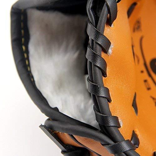 qees guantes de béisbol para jóvenes soft solid pu...