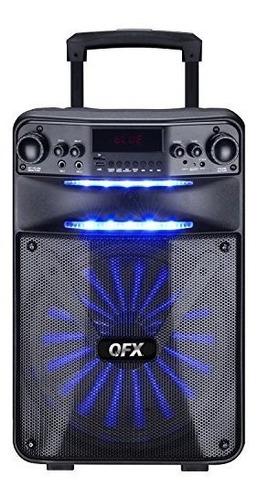 qfx pbx-1210 altavoz de fiesta controlado por aplicacion int