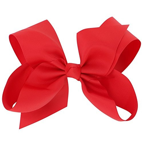 qinghan 4.5  x26quot hair bow clips grosgrain