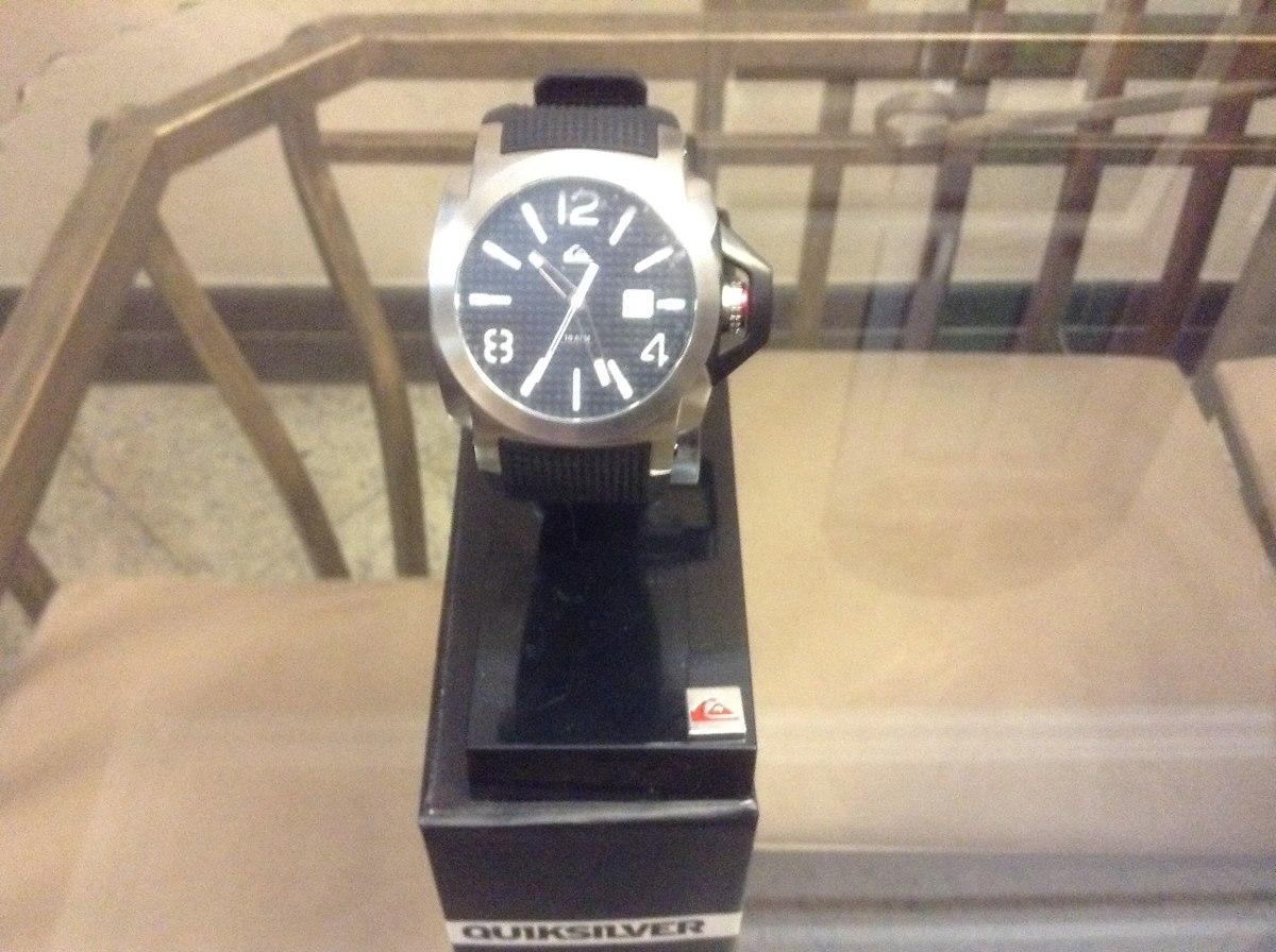 d238a3a5e57 qk relógio quiksilver luma lanai black white (inox) m148jr. Carregando zoom.