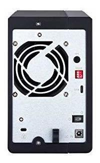 qnap 2 bay das con 4tb seagate ironwolf drives preconfigurad