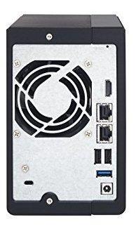 qnap 2 bay nas con 4tb seagate ironwolf drives preconfigurad