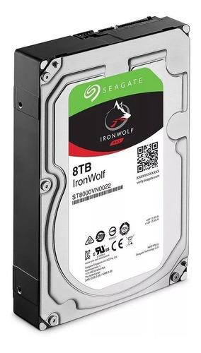 qnap ts-431p-servidor nas +  2 discos seagate total 16 teras