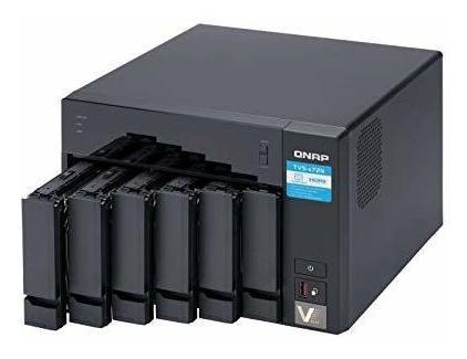 qnap tvs-672n-i3-4g-us 6 bay nas con 5 gbe, intel core i3, r