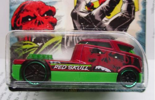 qombee captain america red skull  hot wheels
