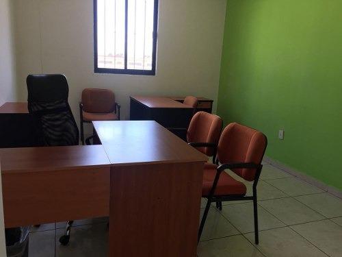 qr/oficina en renta amueblada en el centro
