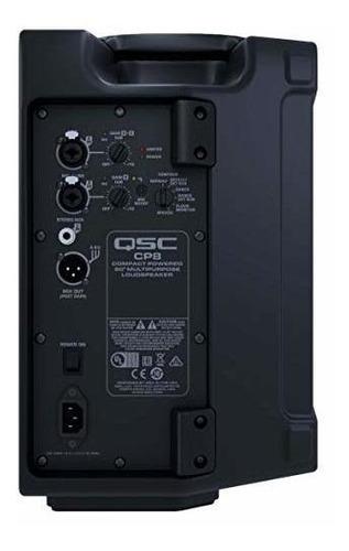 qsc cp8 altavoz potenciado