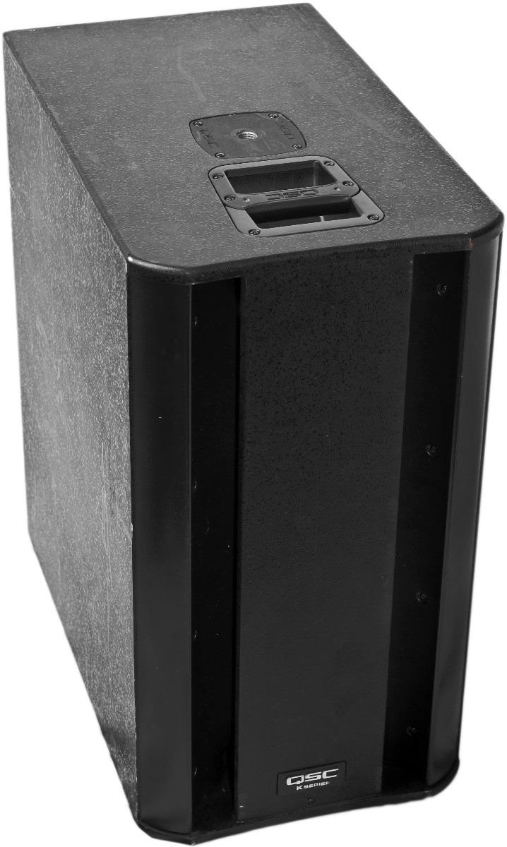 qsc k sub subwoofer 1000 watts 48 en mercado libre. Black Bedroom Furniture Sets. Home Design Ideas