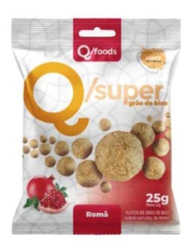 q/super grão de bico snack sabor romã 25 gramas