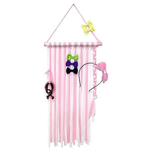 qtgirl baby girls hair bow holder 30 long bow hanger clips d