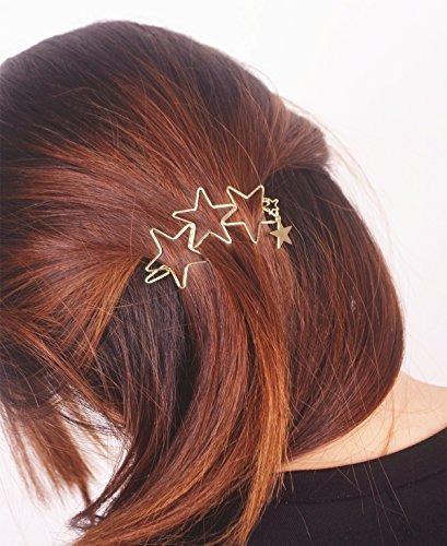 qtmy 2 piezas de cinco puntas en forma de estrella pin pinz
