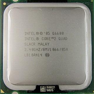 quad core q6600 - de 2.4 ghz - 8 mb - bus 1066 - socket 775