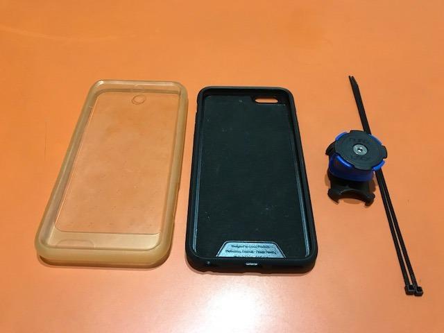 cheaper 9fc74 0cb26 Quad Lock Bike Suporte iPhone 6 Plus 6s Plus