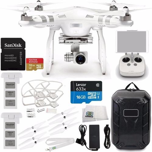 quadcopter dji phantom 3 advanced quadcopter drone w/ 1080p