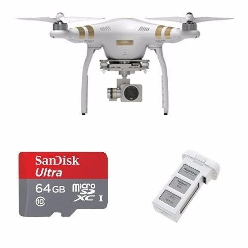 quadcopter dji phantom 3 professional quadcopter 64 gb sd