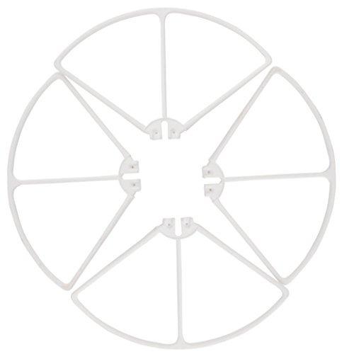 quadcopter kitdartphew 4pcs guardias de la helice cubren acc